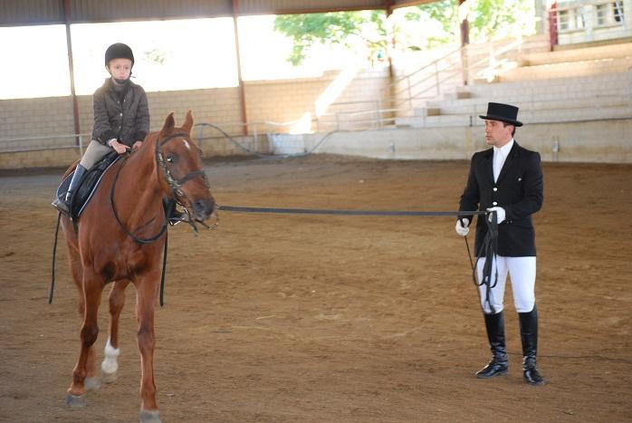 La escuela municipal de equitación participa, por primera vez, en los Judex