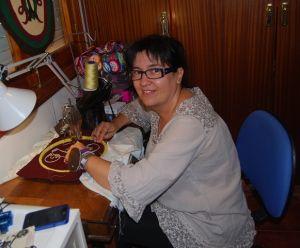 Los bordados en fieltro de la artesana Chari Bravo llegan hasta Paraguay