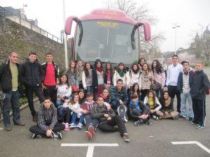 26 franceses participan en un intercambio con jóvenes del IES Francisco de Orellana